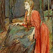 Melisande Poster by Henry Meynell Rheam