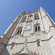 Memorial Union Clock Tower Poster by Kay Pickens