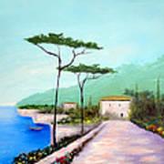 Memories  Of Lake Como Poster