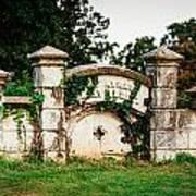 Memphis Elmwood Cemetery - Ayres Family Vault Poster