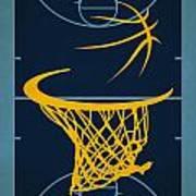 Memphis Grizzlies Court Poster