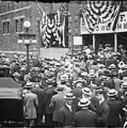 Men At 1912 Republican National Convention Poster