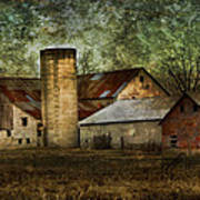 Mennonite Farm In Tennessee Usa Poster by Kathy Clark