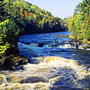 Menominee River At Piers Gorge, Upper Poster