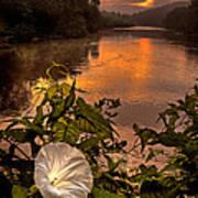 Meramec River At Chouteau Claim Poster