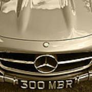 Mercedes Benz 300 Sl Roadster 1957 Poster