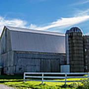 Mercer County Barn Poster