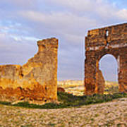 Merinid Tombs Ruins In Fes In Morocco Poster