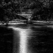 Merrill Walk Bridge Poster