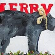 Merry Bear Poster