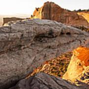 Mesa Arch Sunrise 6 - Canyonlands National Park - Moab Utah Poster