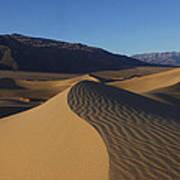 Mesquite Dunes Death Valley 1 Poster
