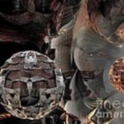 Metal Spheres Poster by Bernard MICHEL