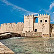 Methoni Venetian Fortress Poster by Gabriela Insuratelu