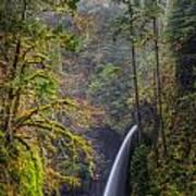 Metlako Falls Oregon Poster