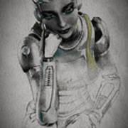 Metropolis Poster by Bob Orsillo