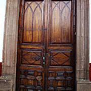Mexican Door 62 Poster