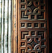 Mexican Door 64 Poster
