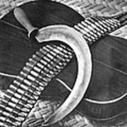 Mexican Revolution Guitar, Sickle Poster
