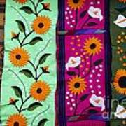 Mexican Table Runners Cancun Poster