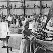 Mexican Textile Factory Poster