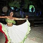 Mexican Traditional Dancer Poster