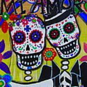 Mi Amor Dia De Los Muertos Wedding Poster