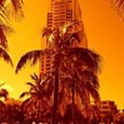 Miami South Pointe Iv Poster