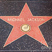 Michael Jackson - Hollywood California Poster
