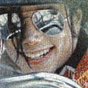 Michael Jackson - Mosaic Poster