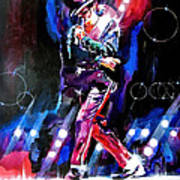 Michael Jackson Moves Poster