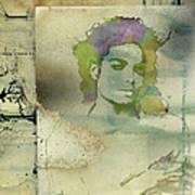Michael Jackson Silhouette Poster