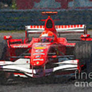 Michael Schumacher Canadian Grand Prix I Poster