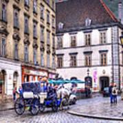 Michaelerplatz. Vienna Poster