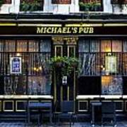 Michaels''s Pub Poster by David Pyatt
