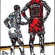 Micheal Jordan 1 Poster by Jeremiah Colley