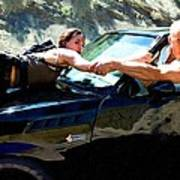 Michelle Rodriguez And Vin Diesel @ Fast To Furious Poster