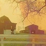 Michigan Barns Poster