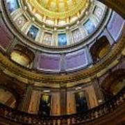 Michigan Capitol Dome Poster