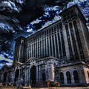 Michigan Central Station Hdr Poster