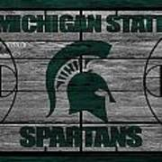 Michigan State Spartans Poster