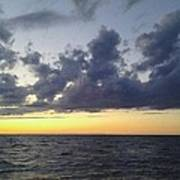 Michigan Sunset Poster