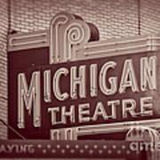 Michigan Theatre Poster
