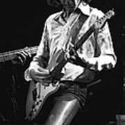 Mick In Flight 1977 Poster