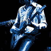 Mick Plays The Blues In Spokane 1977 Poster