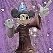 Mickey And The Stars Poster