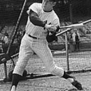 Mickey Mantle Poster Poster
