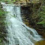 Middle Branch Falls Upper Tier #1 Poster