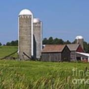 Middlebury Vermont Barn Poster