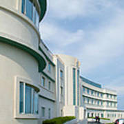 Midland Hotel In Morecambe Poster